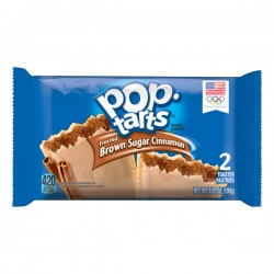 Pop-Tarts Breakfast Toaster Pastries, Frosted Brown Sugar Cinnamon Flavored, Single Serve, 3.25 oz (2 Count)