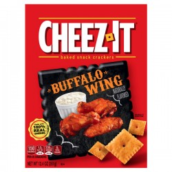 Cheez-It Baked Snack Cheese Crackers, Buffalo Wing, 12.4 oz