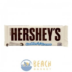 HERSHEY'S Cookies 'n' Creme Candy Bars, 1.55-Ounce Bars