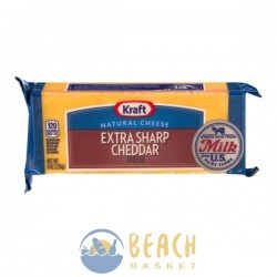 Kraft Natural Cheese Extra Sharp Cheddar