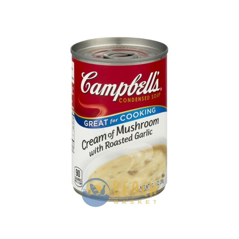 Campbell 39 S Soup Cream Of Mushroom With Roasted Garlic