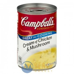 Campbell's Soup Cream of Chicken & Mushroom