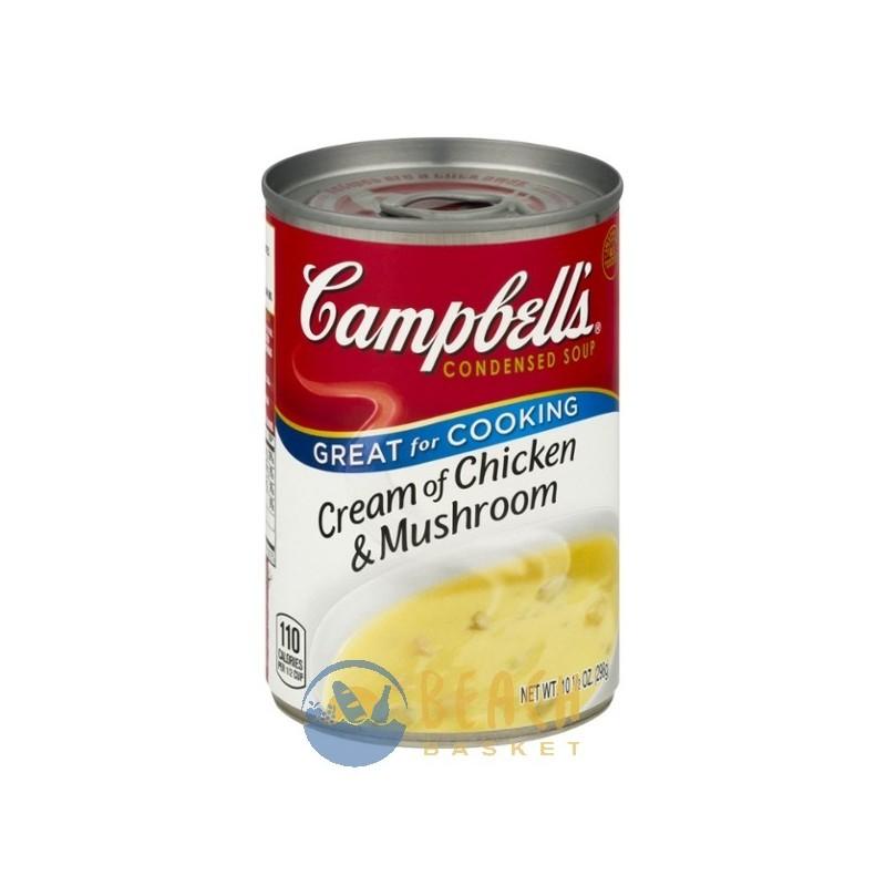 Campbell 39 S Soup Cream Of Chicken Mushroom Beach Basket