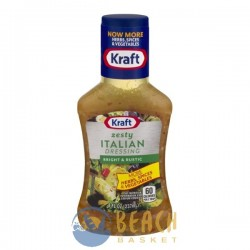 Kraft Zesty Italian Dressing Bright & Rustic