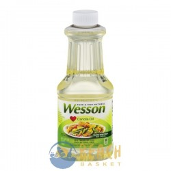 Wesson Pure & 100% Natural Canola Oil