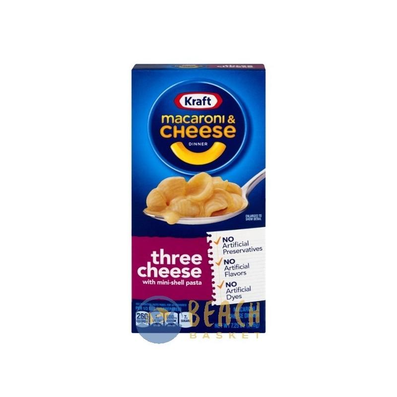 Kraft Macaroni & Cheese Three Cheese - Beach Basket Belize