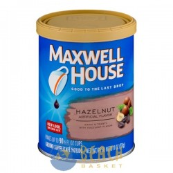 Maxwell House Ground Coffee Hazelnut