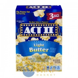 ACT II Microwave Popcorn Light Butter - 3 CT