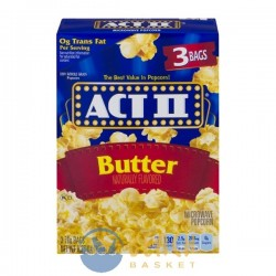 ACT II Microwave Popcorn Butter - 3 CT