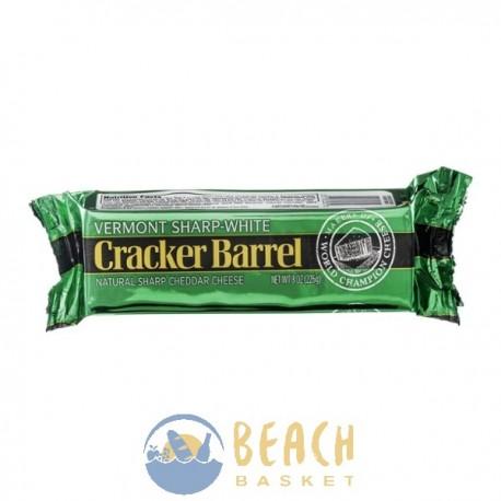 Cracker Barrel Natural Sharp Cheddar Cheese Vermont Sharp-White