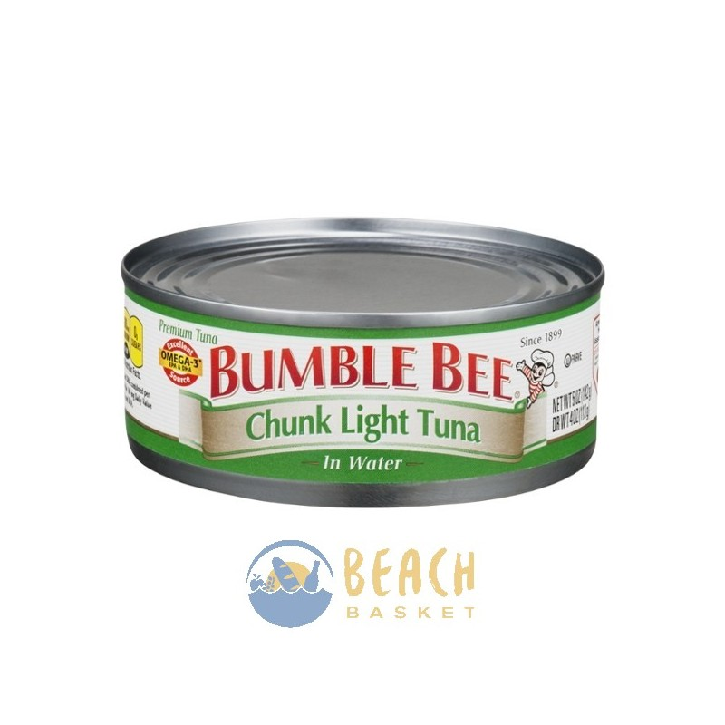 grocery canned goods bumble bee chunk light tuna in water. Black Bedroom Furniture Sets. Home Design Ideas