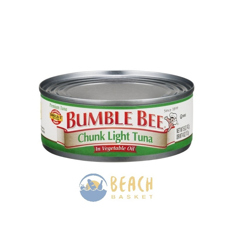 grocery canned goods bumble bee chunk light tuna in vegetable oil. Black Bedroom Furniture Sets. Home Design Ideas