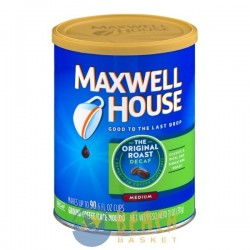 Maxwell House Ground Coffee The Original Roast Medium Decaf
