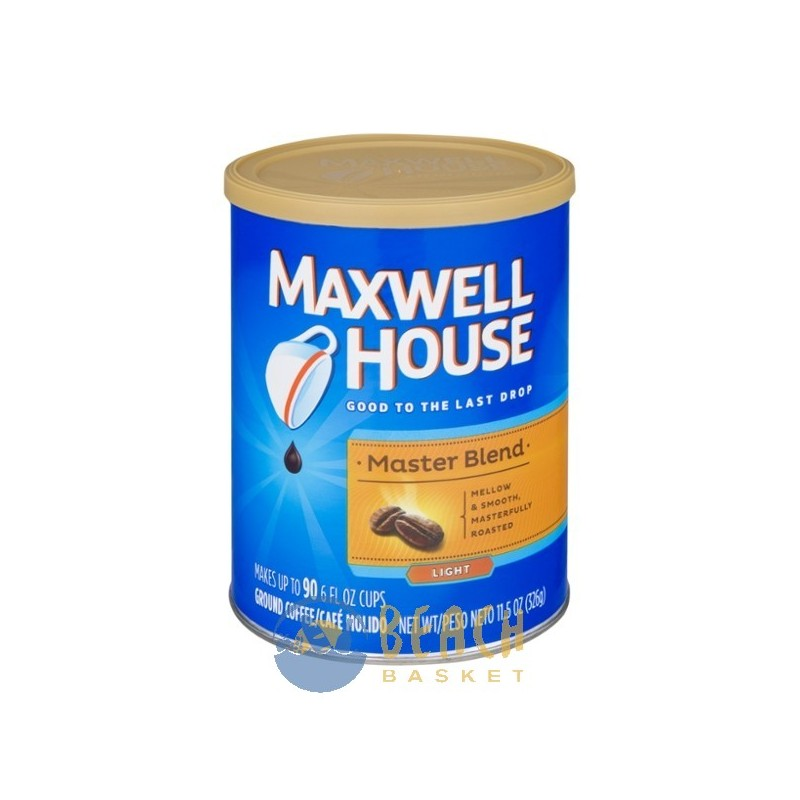 maxwell house coffee grounds light roast master blend Coffeegrounds