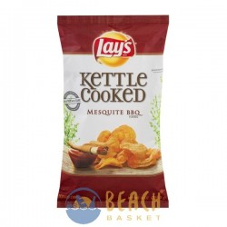 Lay's Kettle Cooked Potato Chips Mesquite BBQ