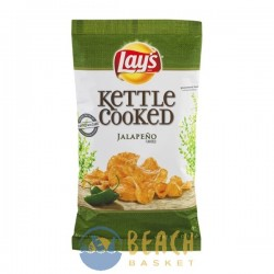 Lay's Kettle Cooked Potato Chips Jalapeno