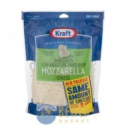 Kraft Natural Cheese Shredded Part-Skim Mozzarella