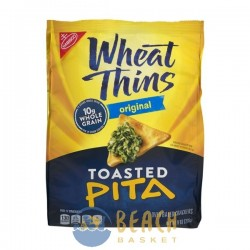 Nabisco Wheat Thins Original Toasted Pita Oven Baked Crackers