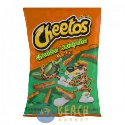 Cheetos Snacks Cheddar Jalapeno Crunchy