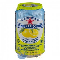 San Pellegrino Sparkling Grapefruit Beverage Pompelmo