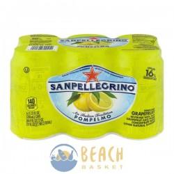 San Pellegrino Sparkling Beverage Grapefruit - 6 CT