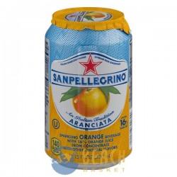 San Pellegrino Sparkling Orange Beverage Aranciata
