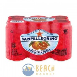 San Pellegrino Italian Sparkling Water Orange - 6 CT