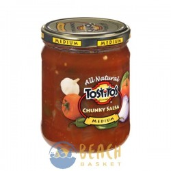 Tostitos All Natural Medium Chunky Salsa