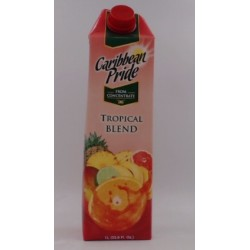 CARIBBEAN PRIDE FRUIT PUNCH JUICE TROPICAL BLEND 1L