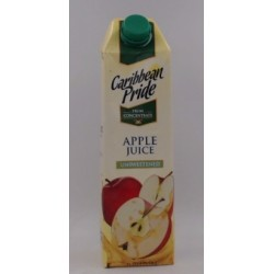 CARIBBEAN PRIDE UNSWEETENED APPLE JUICE 1L