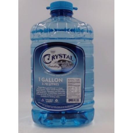 Crystal Gallon Water