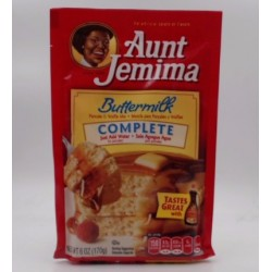 AUNT JEMIMA BUTTERMILK PANCAKE MIX 6OZ
