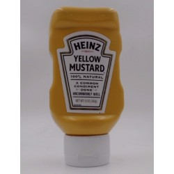 HEINZ YELLOW MUSTARD 13oz