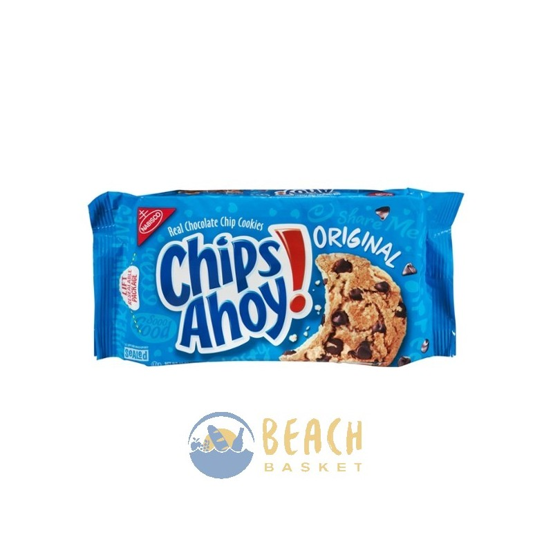 Nabisco Chocolate Chip Cookies In Red Box