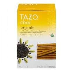 Tazo Chai Organic Black Tea Filterbags - 20 CT