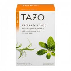 Tazo Refresh Mint Filterbags - 20 CT