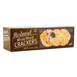 ROLAND WHOLE WHEAT CRACKERS 4.4oz