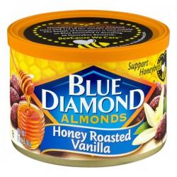 Blue Diamond Almonds Honey Roasted Vanilla