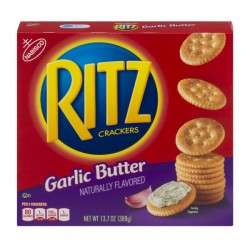 Nabisco Ritz Crackers Garlic Butter