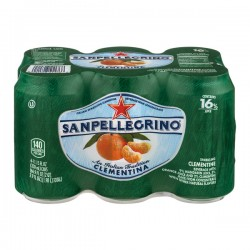 San Pellegrino Sparkling Clementine Beverage - 6 CT