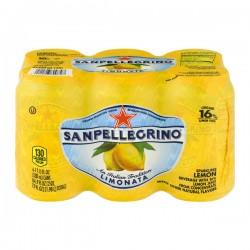 San Pellegrino Sparkling Beverage Lemon - 6 CT