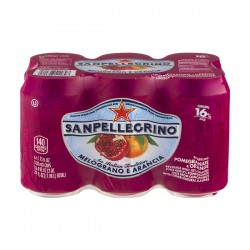 San Pellegrino Pomegranate & Orange Sparkling Juice Beverage - 6 CT