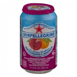 San Pellegrino Sparkling Pomegranate & Orange Beverage Melograno E Arancia