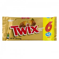 Twix Fun Size Bars - 6 CT