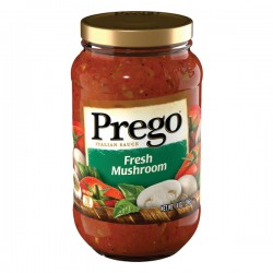 Prego® Fresh Mushroom Italian Sauce, 14 oz.
