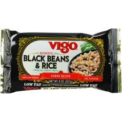VIGO BLACK BEANS AND RICE 8oz