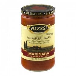 Alessi All Natural Sauce Marinara Chunky Style