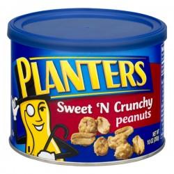 Planters Peanuts Sweet 'N Crunchy