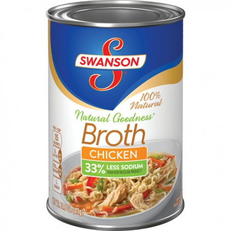 Swanson® Natural Goodness™ Chicken Broth, 14.5 oz.