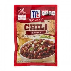 McCormick Chili Tex-Mex Seasoning Mix